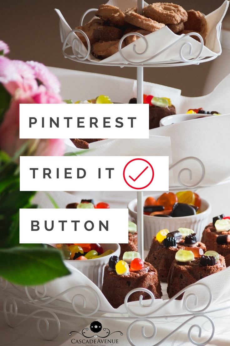 Pinterest tried it button Secret weapon for growth and engagement on Pinterest