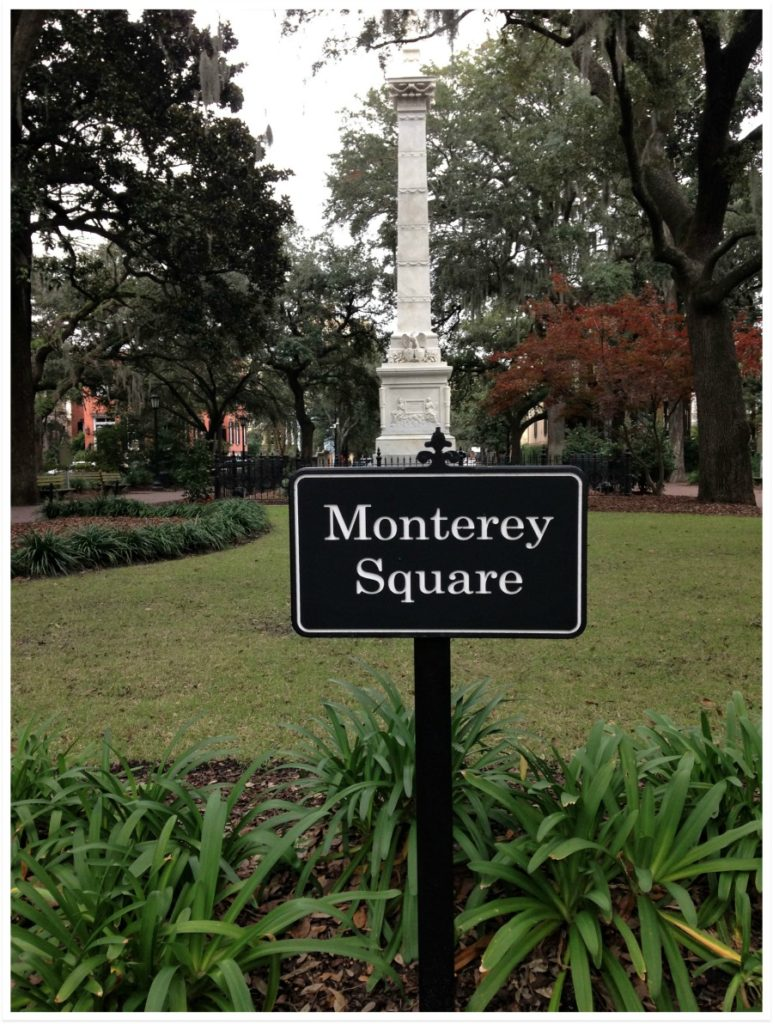 Monterey Square, Savannah, Georgia