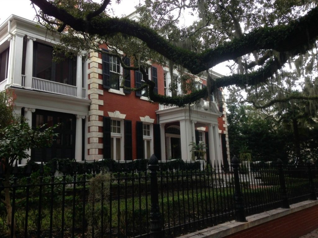 Savannah-GA-Historic-District-Homes