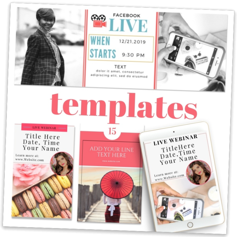 Canva templates Media Kit